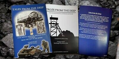Tales From The Deep By Brian Long Coal Mining Book Memorabilia Industry Pits • 10£