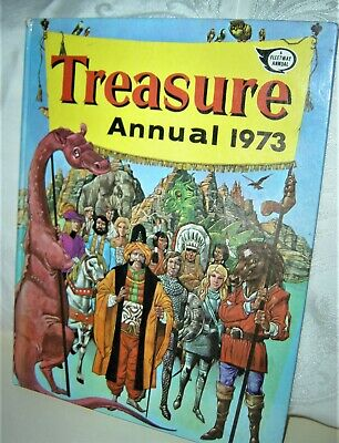 Treasure  Annual: 1973 (Hardback, 1972) • 5.99£
