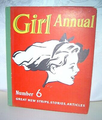 Girl Annual Number 6 - 1958 • 6.99£