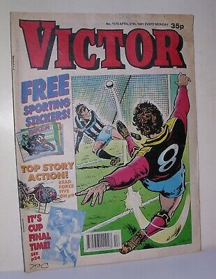 Victor Comic – No. 1575 27th Oct 1991 – With Free Gift • 6.99£