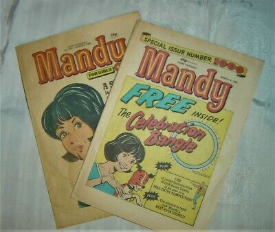 Mandy Comic – 2 Issues Inc. No. 1000 • 7.99£
