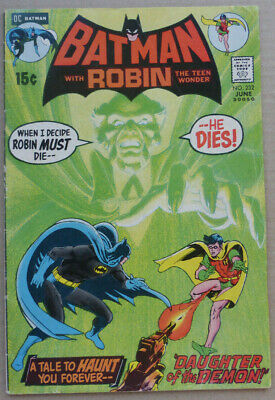 BATMAN #232, Key Issue With 1st Appearance Of 'RA's AL GHUL, FN+ • 325£