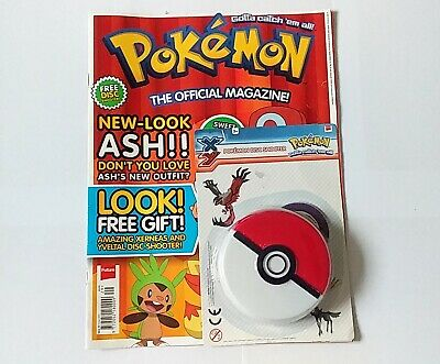 Pokemon The Official Magazine Issue 10 Xmas 2013 *SEALED TOY* - RARE - X Y • 16.95£