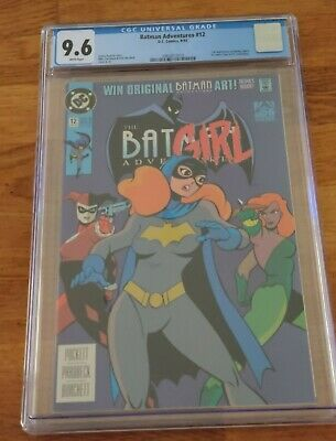 Batman Adventures # 12 CGC 9.6 1993 1st App Harley Quinn - White Pages 🔥🔥 • 798.33£