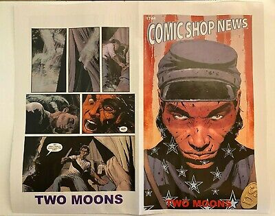 Comic Shop News #1744 2021, Two Moons From Image Comics, Promo • 2.19£