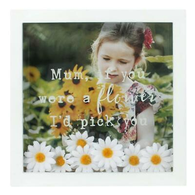 Mum, If You Were A Flower I'd Pick You - Fab Box Display Frame Gift For Mum. • 14.92£