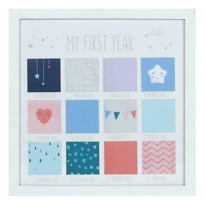 My First Year Baby Photo Frame - Ideal Way To Showcase Their First Twelve Months • 19.82£