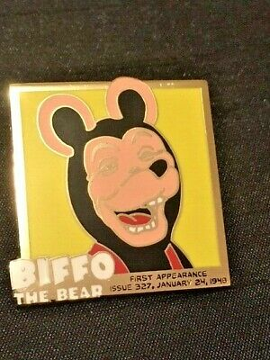 COMIC 22ct GOLD-PLATED ENAMEL BADGE By The DANBURY MINT 15/02/2021/14 BEANO • 19.95£