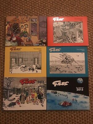 6 X Giles Cartoon Books New In Perfect Condition • 20£