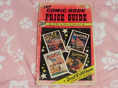 The Comic Book Price Guide 1972 2nd Edition Robert M. Overstreet Ok Condition • 45£