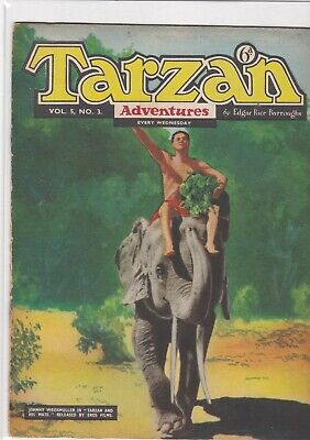 Tarzan Adventures   V 5  #  3   British Edition • 5£