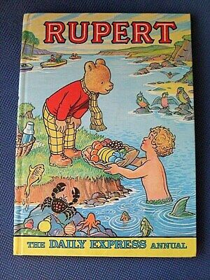 Vintage Rupert Annual, 1975 . Clipped, Vgc • 2.50£