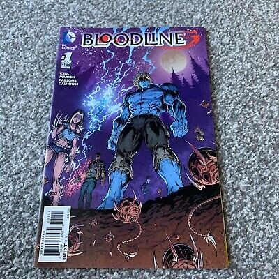 BLOODLINES #1 Of 6 (2016) DC SERIES • 0.69£