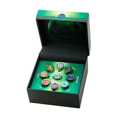 Dc Comics Green Lantern Corps  Limited Edition Ring Set  • 59.99£