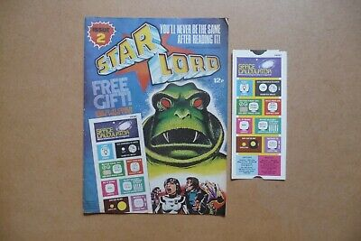 Star Lord Comic - No 2 - 1978. • 19.99£