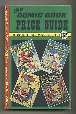 Overstreet Price Guide #3S Softcover Variant VG 4.0 1973 • 51.50£