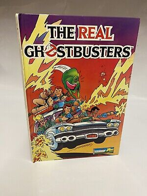 The Real Ghostbusters - Chad Valley - Annual - 1989 - Book - Vintage • 19.99£