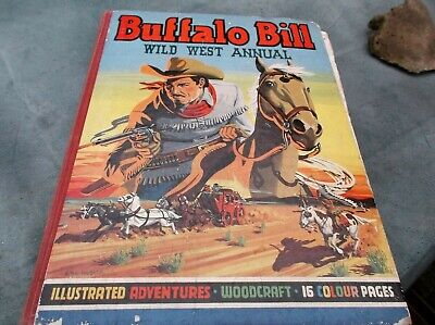 Buffo Bill Wild West Annual, 1950, 192 Pages (69 Years Old) Complete See Details • 2.50£