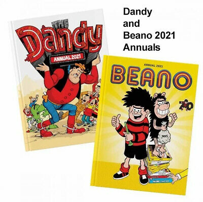 Beano And The Dandy Annual 2021 Book Set • 17£