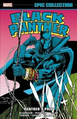 Black Panther Epic Collection: Panther's Prey 9781302921989 | Pre Order • 26.64£