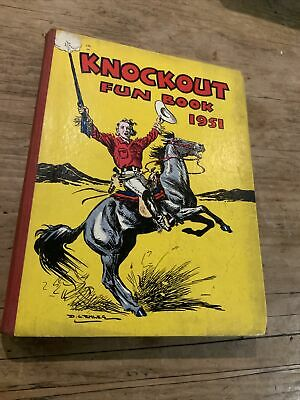 Knockout Fun Book 1951 By Frazer, Martin; Haringe, Rex • 4.95£