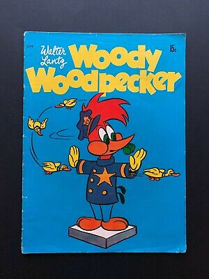 WOODY WOODPECKER 1961 Gordon Gotch Australian Comic 2179 Warner Bros Silver Age • 17.50£