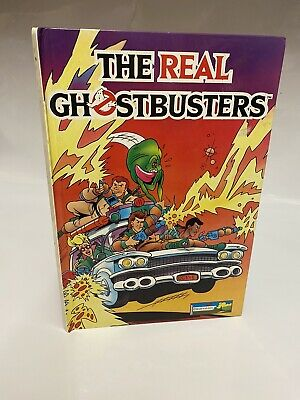 The Real Ghostbusters - Chad Valley - Annual - 1989 - Book - Vintage • 15.99£