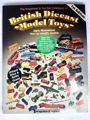 DIECAST BRITISH MODEL TOY CATALOGUE  1st EDITION BY JOHN RAMSAY 1984 • 2.99£