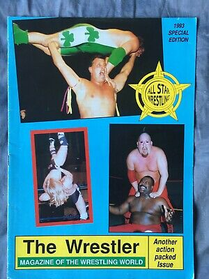 The Wrestler Magazine From All Star Promotion 1993 • 5£