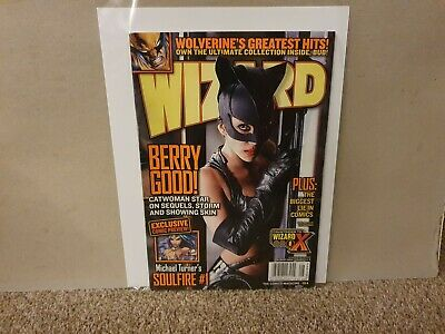 2004 August - Wizard Magazine #154 - Bruce Campbell Q&A - Very Good Condition • 2.99£