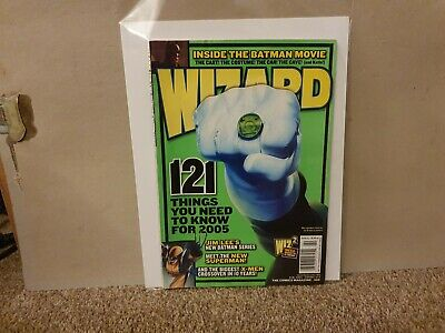 2005 February - Wizard Magazine #160 - Keanu Reeves Q&A - Very Good Condition • 2.99£
