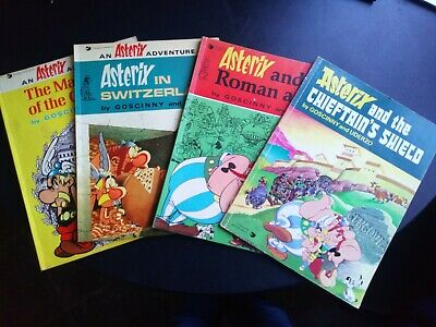 Asterix The Gaul Books+4 • 10£