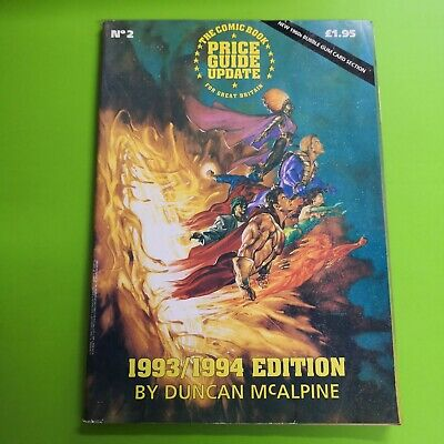The Comic Book Price Guide Update For Great Britain No. 2 1993 /1994 McAlpine • 9.99£