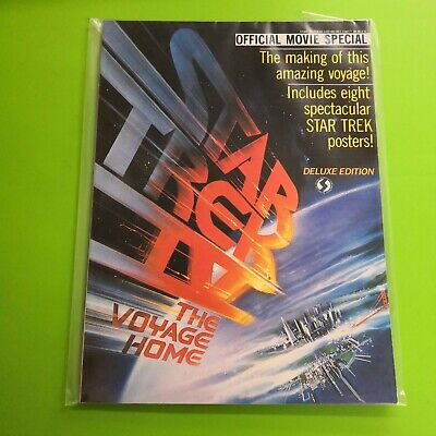 Star Trek IV The Voyage Home Deluxe Edition Movie Special 1986 - Magazine • 14.99£