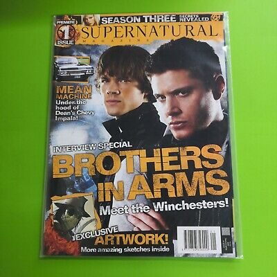 Supernatural Magazine Issue #1 March / April 2008 • 9.99£