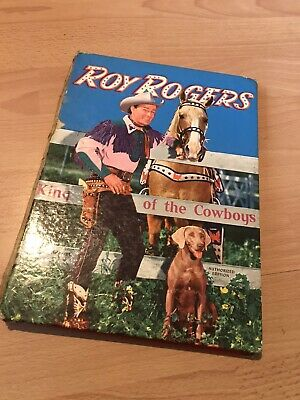 Roy Rogers King Of The Cowboys Annual 1950's • 2.99£