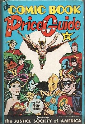 Book - Overstreet: THE COMIC BOOK PRICE GUIDE No.4 - Hardcover 1974 • 115.83£