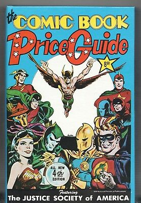 Book - Overstreet: THE COMIC BOOK PRICE GUIDE No.4 - Hardcover 1974 Mint • 198.50£