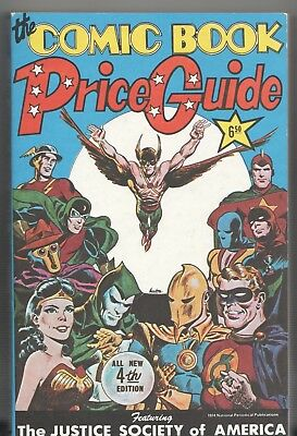 Book - Overstreet: THE COMIC BOOK PRICE GUIDE No.4 - Softcover 1974 • 115.83£
