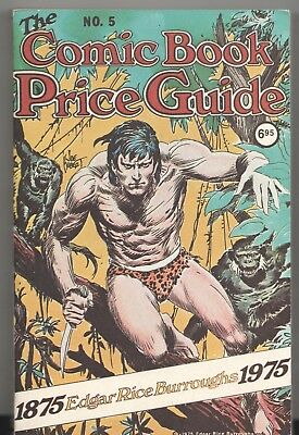 Book - Overstreet: THE COMIC BOOK PRICE GUIDE No.5 - Softcover 1975 $6.95 • 53.66£