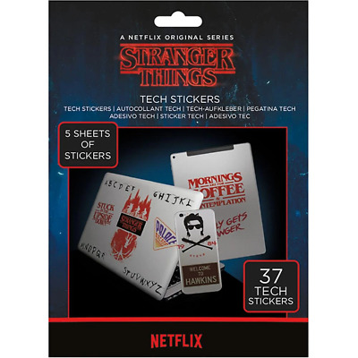 Stranger Things Tech Stickers | OFFICIAL • 6.80£