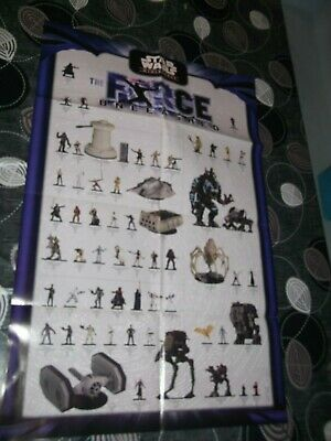 Star Wars Miniature Games Wotc Force Unleashed Poster Promo • 7.99£