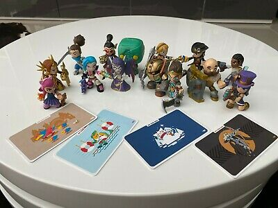 13 Mini Opened Blind Box League Of Legends Figures And 1 Funko Pop With Cards • 25£