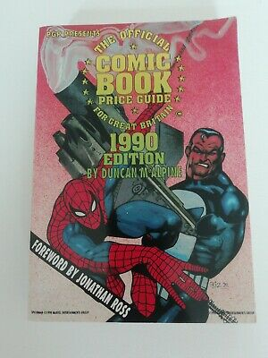 Official Comic Book Price Guide For Great Britain (D McAlpine)  1990  • 7.99£
