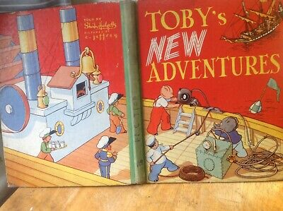 Toby's New Adventures Annual • 1.70£