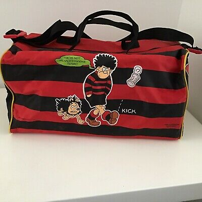 Dennis The Menace Holdall Bag 1989 Bags Of Character • 15£