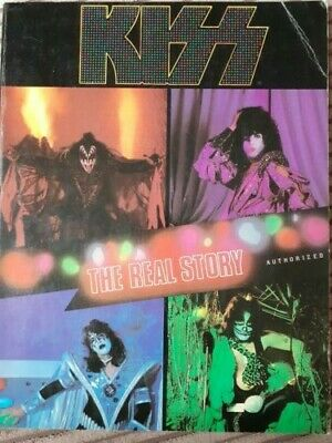 Kiss - The Real Story. By Peggy Tomarkin. Excellent Condition. • 25£