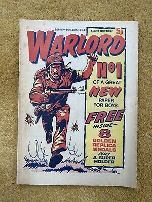 Warlord Magazine Sept 28th 1974 #1 • 100£