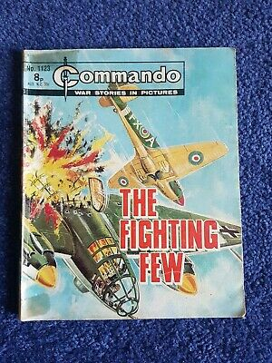 Vintage Commando Comic Issue 1123, 1977 Print. Good Condition  • 1.85£