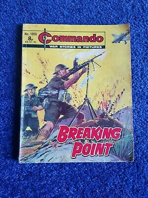 Vintage Commando Comic Issue 1055. 1976 Print. Good Condition  • 2£